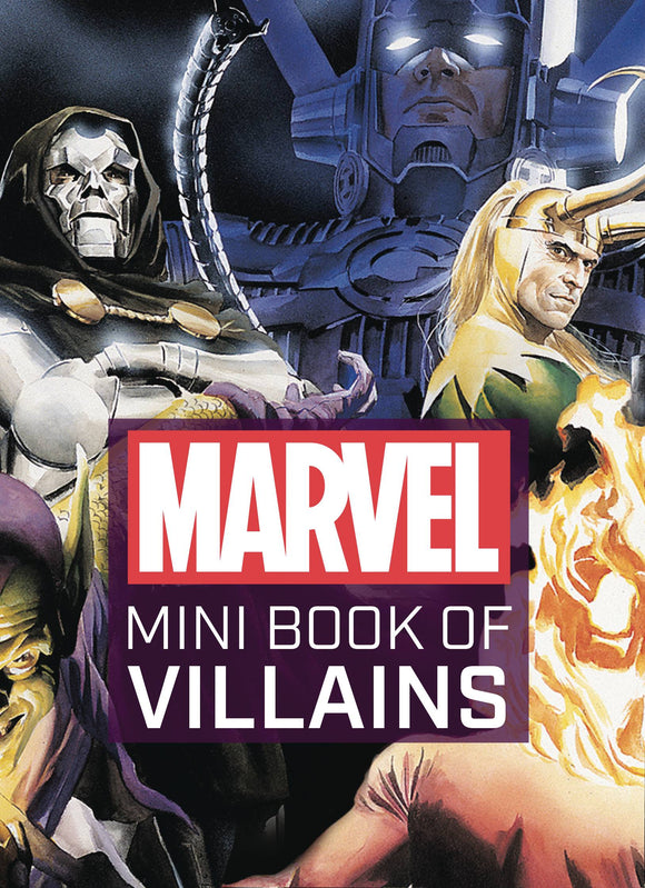 Marvel Comics Mini Book of Villains HC - Books