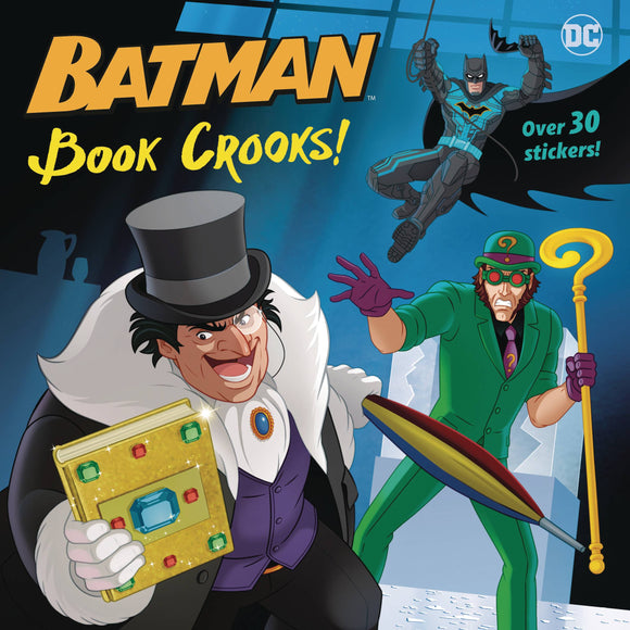 Dc Super Heroes Batman Book Crooks Pictureback - Books