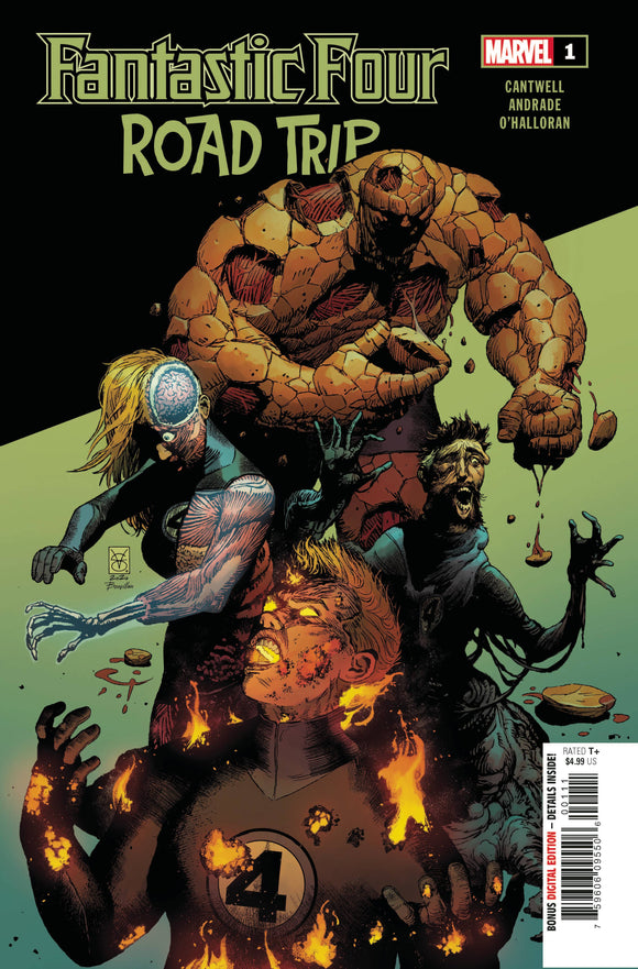 Fantastic Four Road Trip #1 - Comics