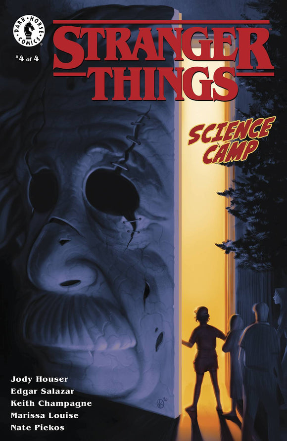 Stranger Things Science Camp #4 (of 4) Cvr A Kalvachev - Comics