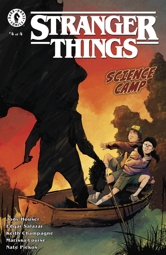 Stranger Things Science Camp #4 (of 4) Cvr B Piriz - Comics