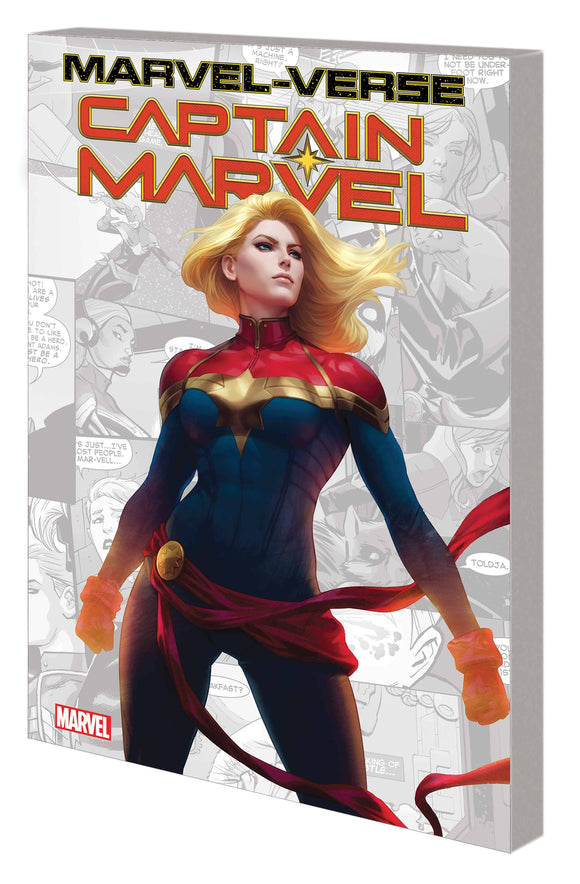 Marvel-Verse Captain Marvel GN TP - Books