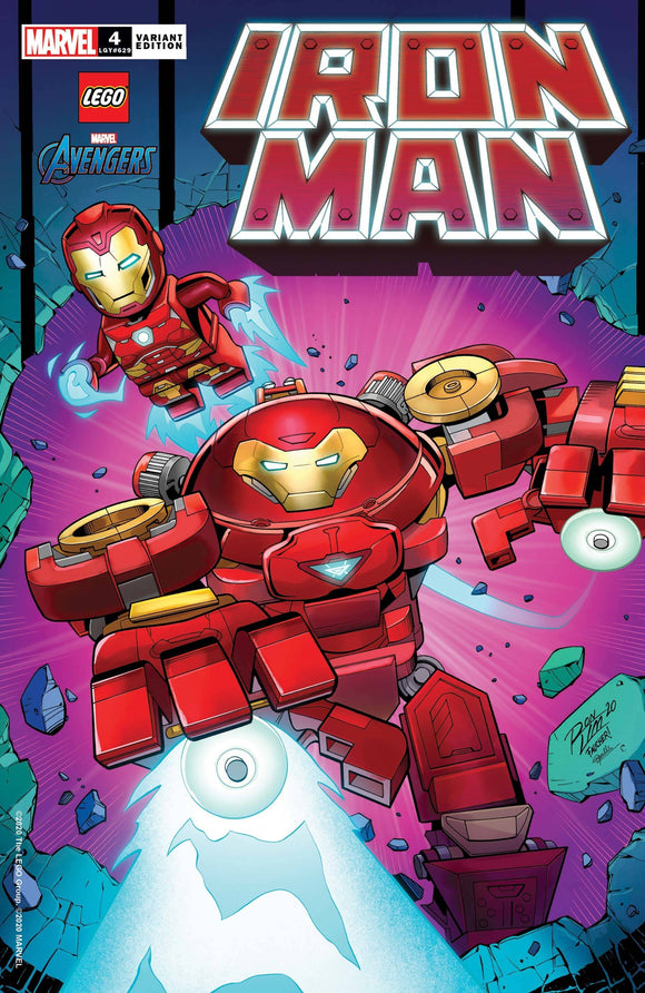 Iron Man #4 Ron Lim Lego Variant - Comics