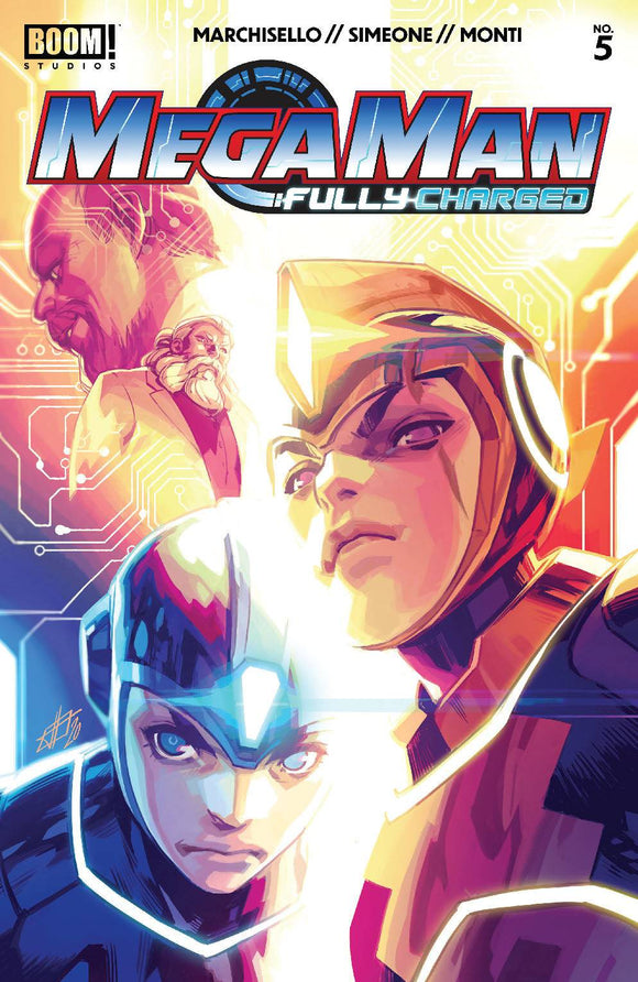Mega Man Fully Charged #5 (of 6) Cvr A Main - Comics