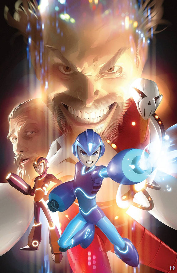 Mega Man Fully Charged #5 (of 6) Cvr C Garner Variant - Comics