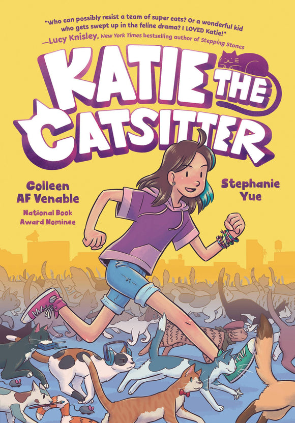 Katie The Catsitter SC GN - Books