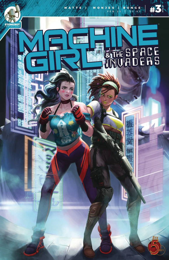 Machine Girl & Space Invaders #3 - Comics