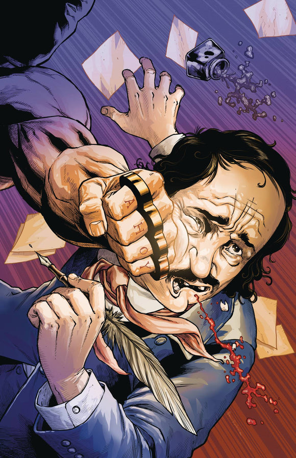 Edgar Allan Poe`s Snifter of Blood #4 - Comics