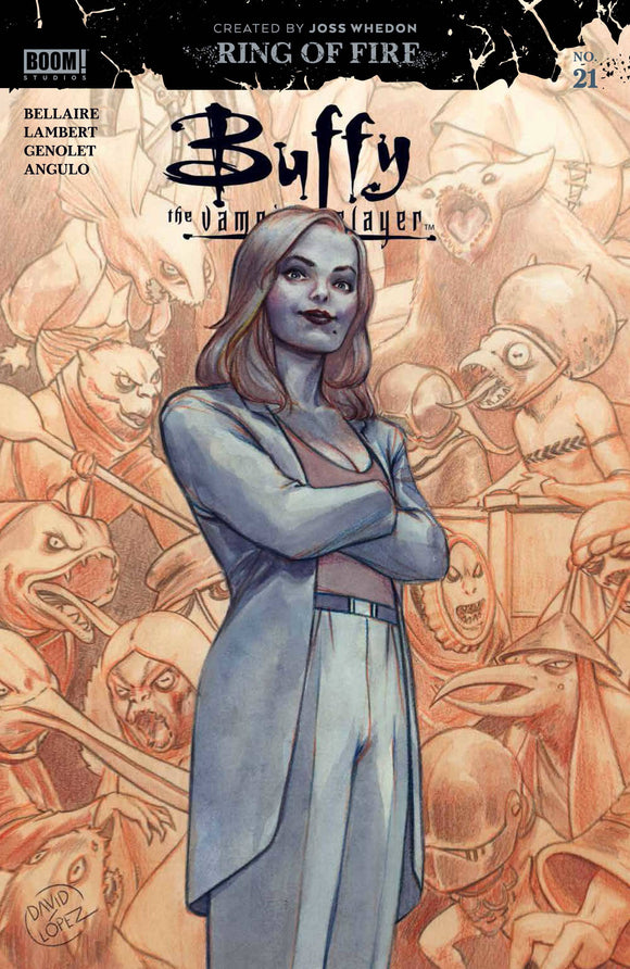 Buffy The Vampire Slayer #21 Cvr A Main - Comics