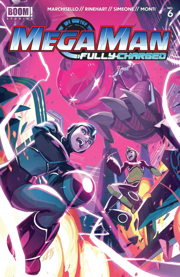 Mega Man Fully Charged #6 (of 6) Cvr A Main - Comics