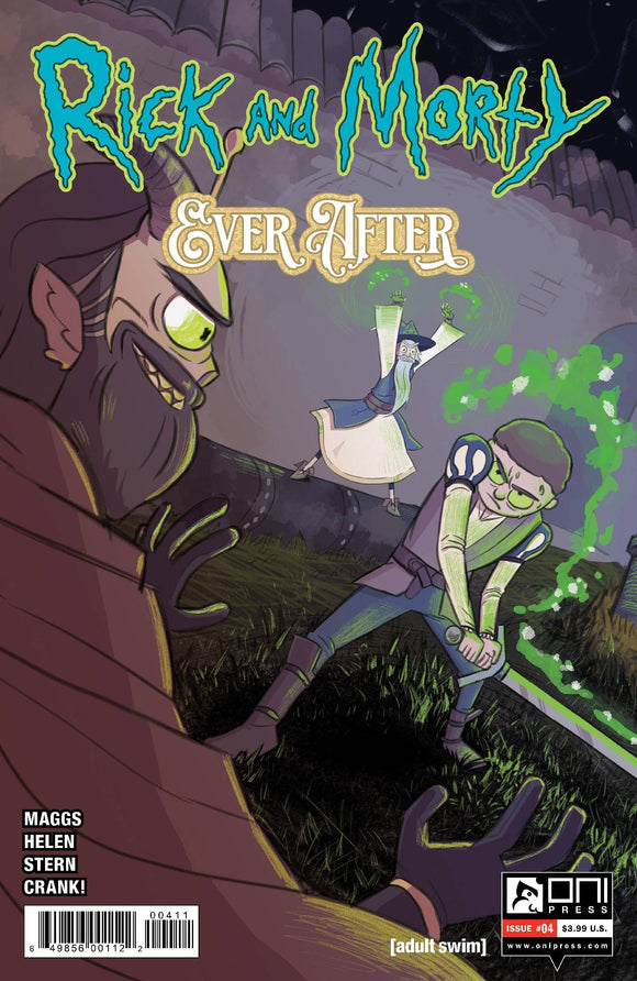 Rick & Morty Ever After #4 Cvr A Helen - Comics