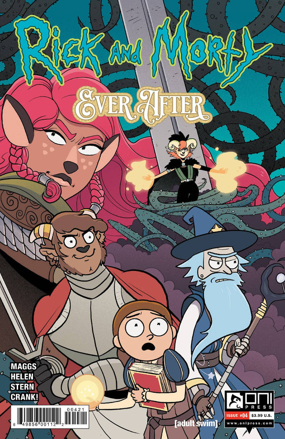 Rick & Morty Ever After #4 Cvr B Stern - Comics