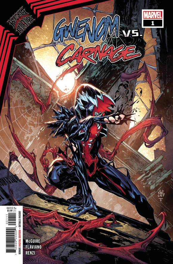 King In Black Gwenom vs Carnage #1 (of 3) - Comics
