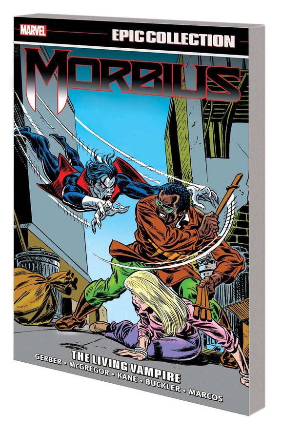 Morbius Epic Collection TP Living Vampire - Books