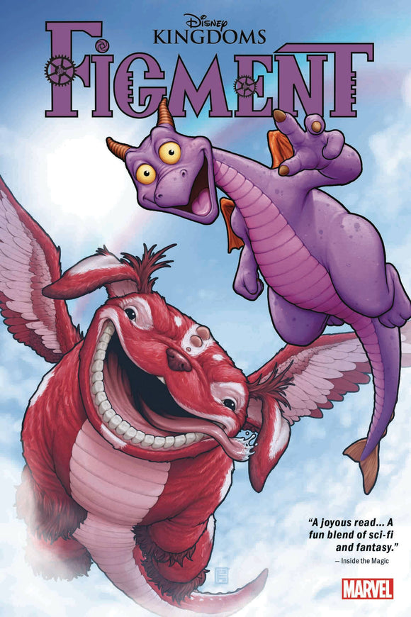 Disney Kingdoms GN TP Figment - Books