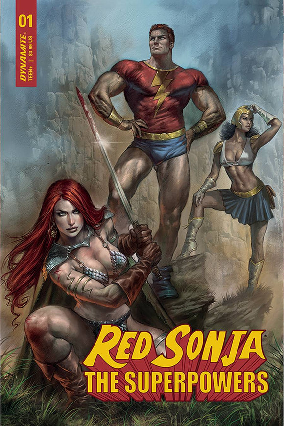 Red Sonja The Superpowers #1 Cvr A Parrillo - Comics