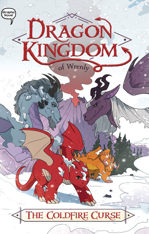 Dragon Kingdom of Wrenly GN Vol 01 Coldfire Curse - Books