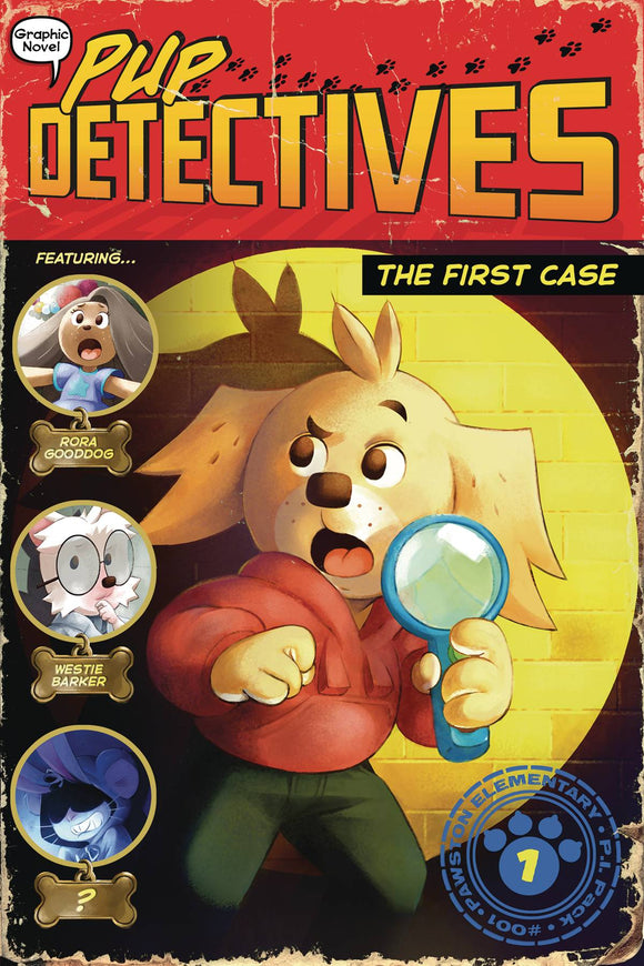 Pup Detective GN Vol 01 First Case - Books