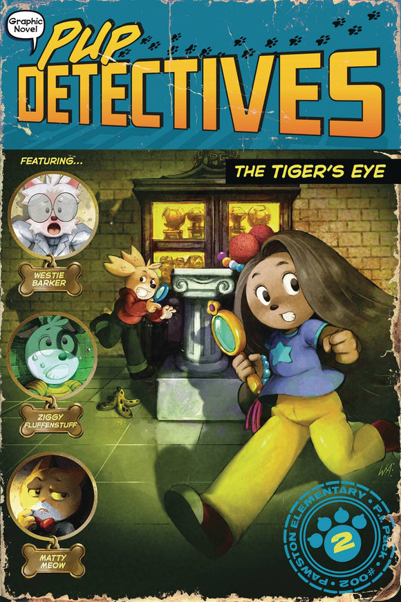 Pup Detective GN Vol 02 Tigers Eye - Books