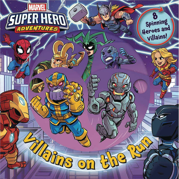 Marvel Super Hero Adv Villains On The Run Board Book - Books