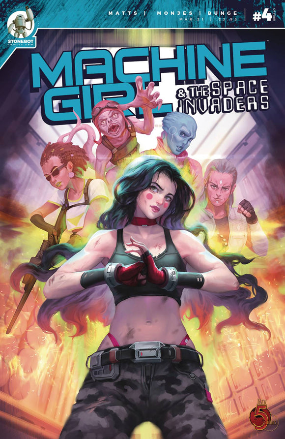 Machine Girl & Space Invaders #4 - Comics