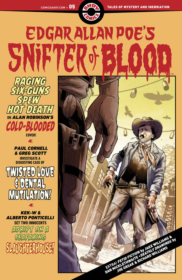 Edgar Allan Poe`s Snifter of Blood #5 - Comics
