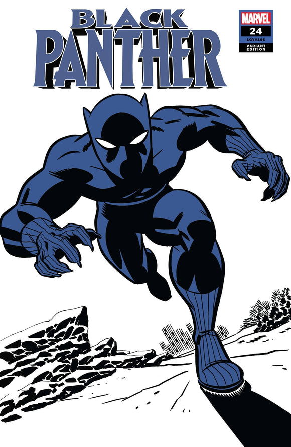 Black Panther #24 Michael Cho Black Panther Two-Tone Variant - Comics