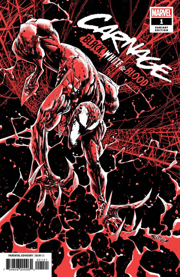 Carnage Black White and Blood #1 (of 4) Ottley Variant - Comics