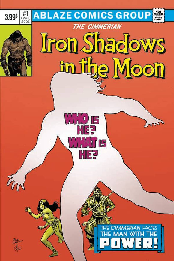 Cimmerian Iron Shadows In Moon #1 Cvr D Casas - Comics