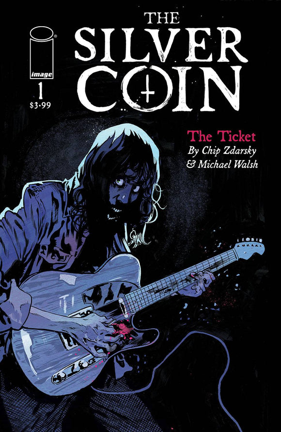 Silver Coin #1 (of 5) (1 Per Customer) Cvr A Walsh - Comics