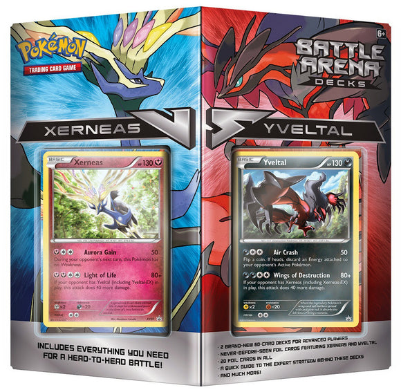 Pokemon Xerneas Vs Yveltal Deck