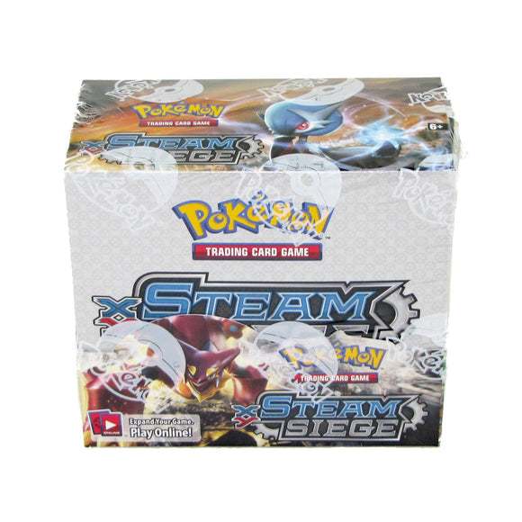 Pokemon Steam Siege Booster Display