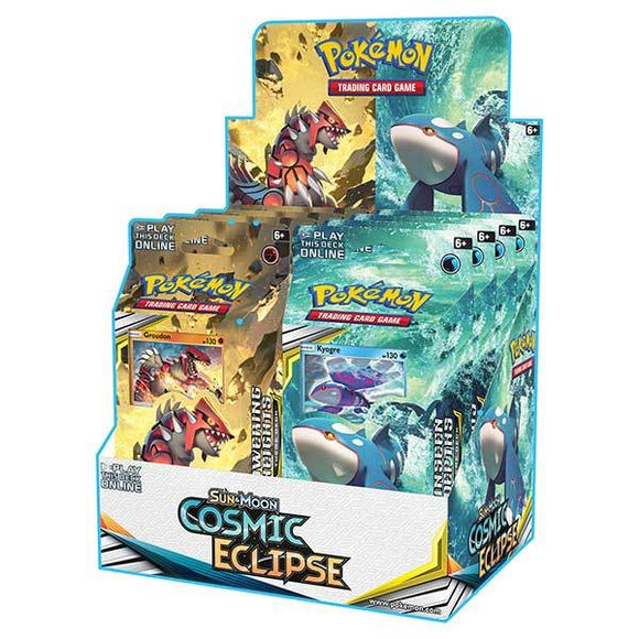 Pokemon Tcg Cosmic Eclipse Theme Deck Display