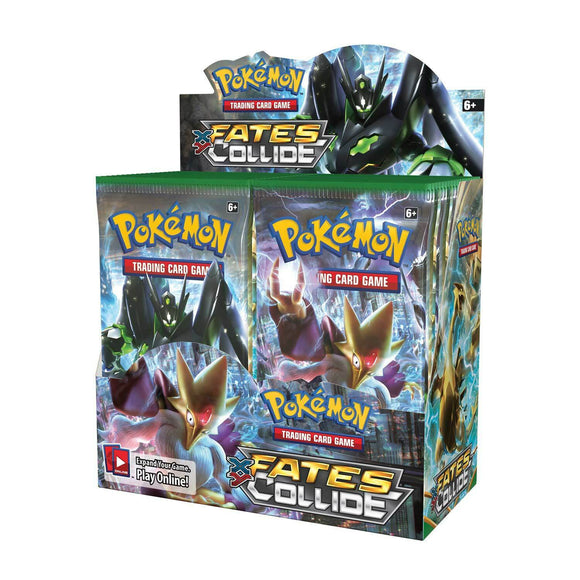 Pokemon Fates Collide Booster Display