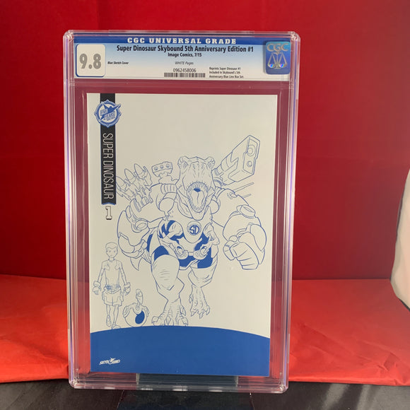 Super Dinosaur #1 Skybound 5th Anniversary Variant Cgc 9.8