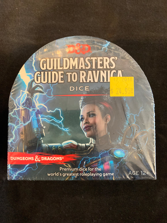 Dungeons & Dragons Rpg Guildmasters Guide To Ravnica Dice