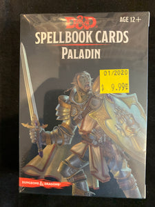 Dungeons & Dragons 5E Spellbook Cards Paladin Deck