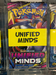 Pokemon Tcg Sun & Moon 11 Unified Minds Booster Pack