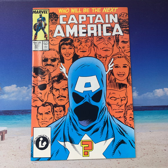 Captain America Vol 1 (1968) #333 VF