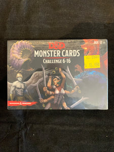 Dungeons & Dragons 5E Spellbook Cards Monsters 6-16