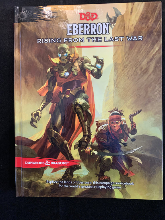 Dungeons & Dragons Eberron Rising From The Last War Hc