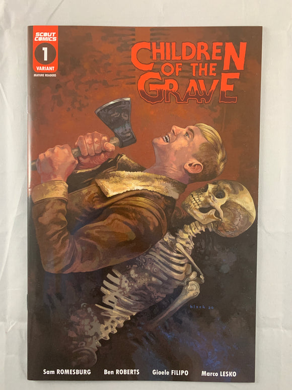 Children of The Grave #1 Webstore Variant Vf