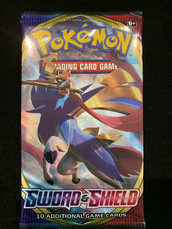 Pokemon Tcg Sword Shield Booster Pack