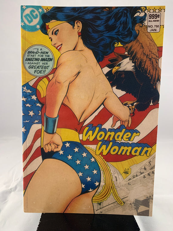 Wonder Woman #750 Artgerm Golden Age Variant