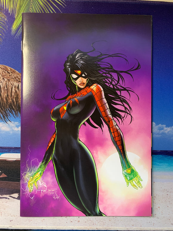 Spider-Woman #1 Cvr B Turner Virgin Variant