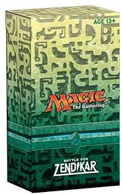 Mtg Tcg Battle For Zendikar Pre Pack
