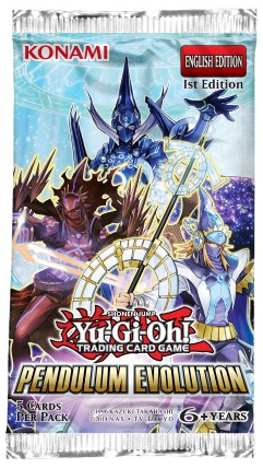 Yu Gi Oh Pendulum Evolution Booster Pack