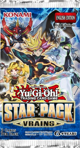 Yu Gi Oh Star Pack Vrains Booster Pack