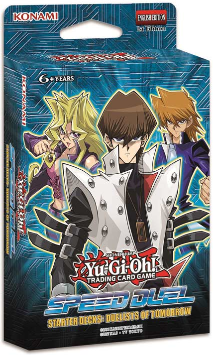 Yu Gi Oh Tcg Speed Dueling Starter Deck Duelist Of Tomorrow