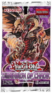 Yu Gi Oh Dimension Of Chaos Booster Pack